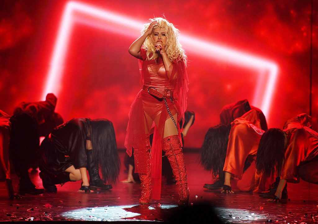 Christina Aguilera - Photography by Denise Truscello
