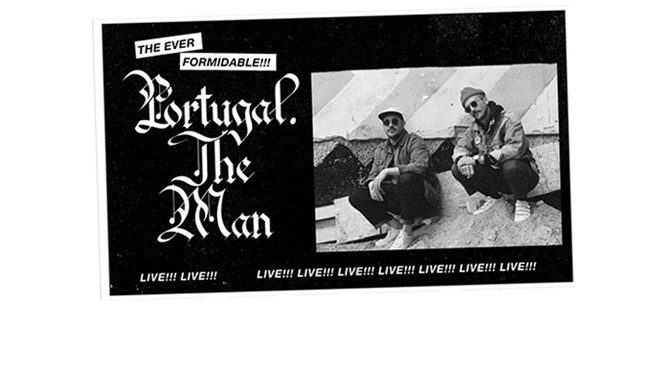 REVIEW: Portugal. The Man Kicked It Like It Was 1986 at The Van Buren 10-12-17