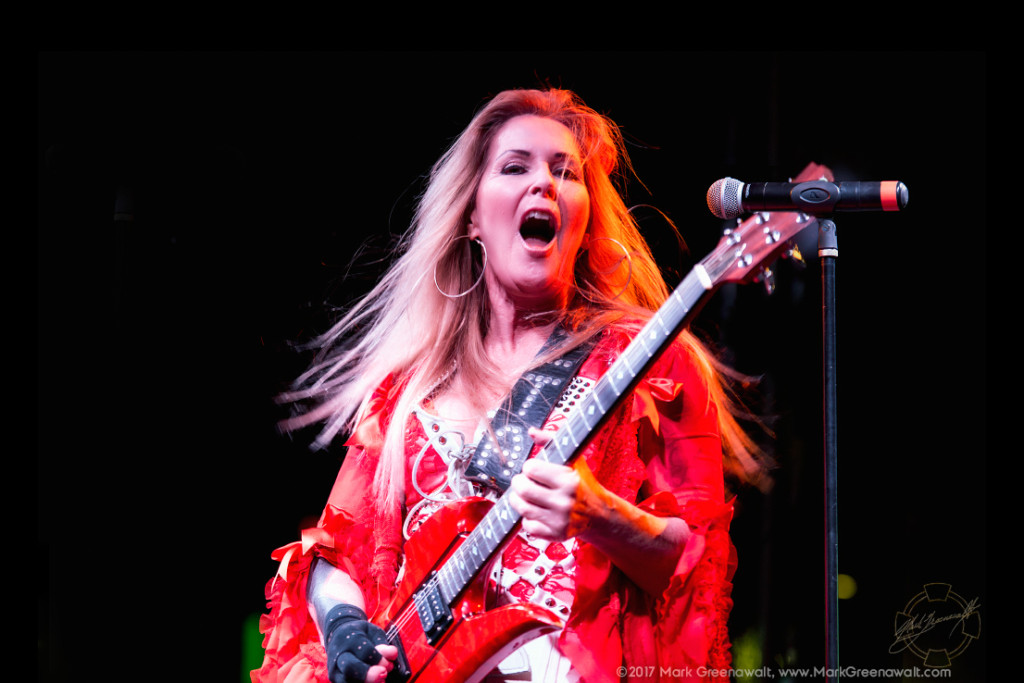 Lita Ford - Photo by Mark Greenawalt, Burning Hot Events