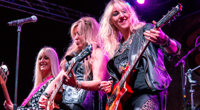 REVIEW: Vixen Revs Up BLK Live with 80s Glam Rock 6-16-18