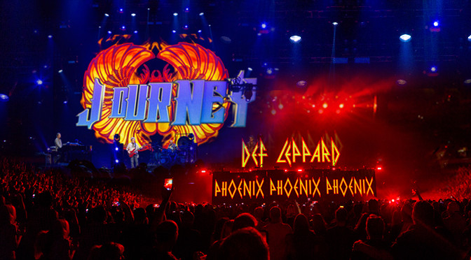 REVIEW: Journey & Def Leppard Rock Phoenix for Ages 9-7-18