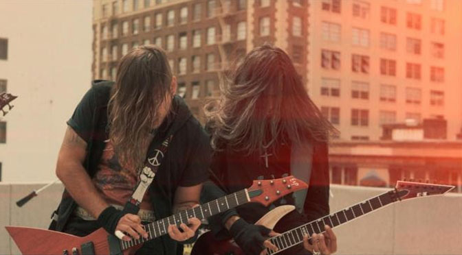 Sifting Shred Downtown Los Angeles Rooftops with Smoke Grenades and Progressive Metal in New 'Stop Calling Me Liberty' Music Video and Single