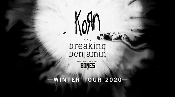 Korn, Breaking Benjamin Announce 2020 North American Tour