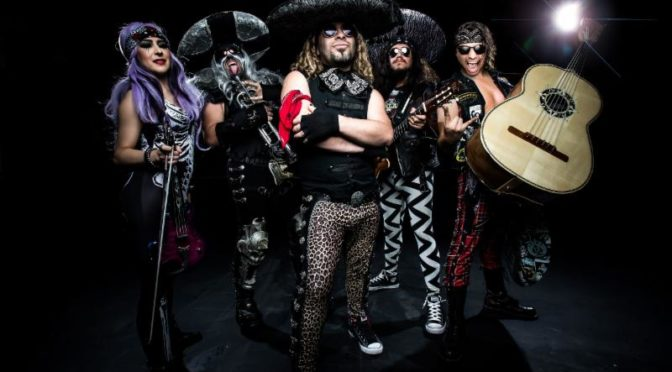 Metal Mariachi Masters METALACHI Announce Southwest U.S. Tour Gritty with Surf Rockers Shark in the Water