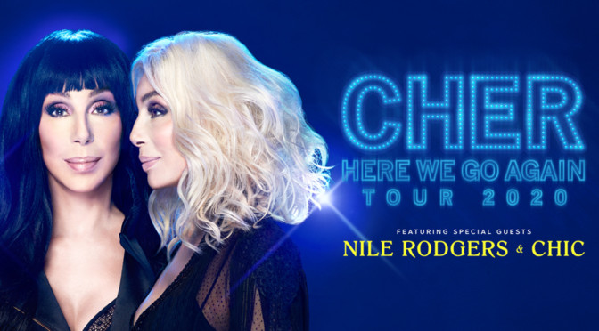 The One And Only Cher Announces 2020 U.S. Dates As Part Of Acclaimed 'Here We Go Again Tour'