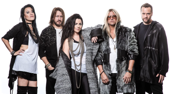 "Evanescence Releases ""The Chain"" (from ""Gears 5"") – Their First New Rock Recording in Eight Years"