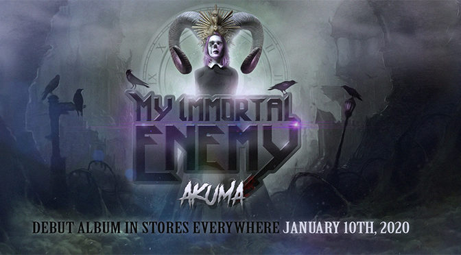 INTERVIEW: My Immortal Enemy Singer Discusses Impending Debut Album — 'Akuma'
