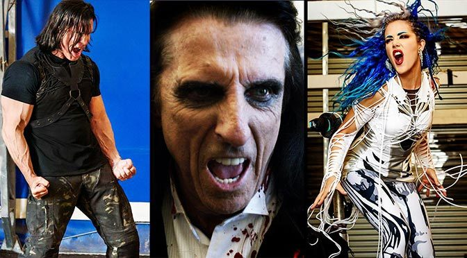 "Kane Roberts Announces Director's Cut of ""Beginning of the End,"" ft. Alice Cooper, Alissa White-Gluz"