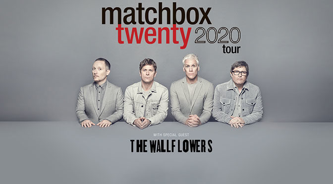 Matchbox Twenty Announces 2020 Summer Tour with Special Guest The Wallflowers