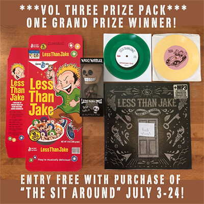 Less Than Jake Prize Pack