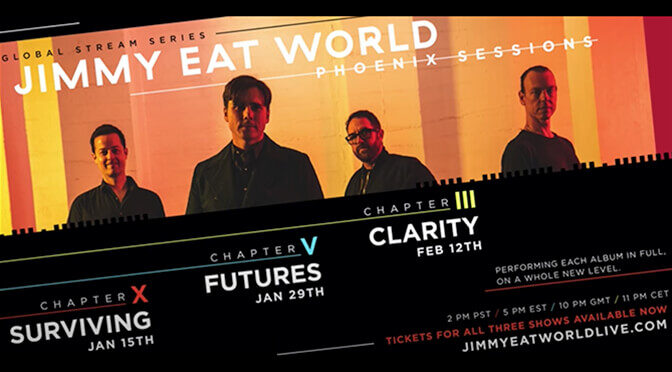 Jimmy Eat World Announce Phoenix Sessions